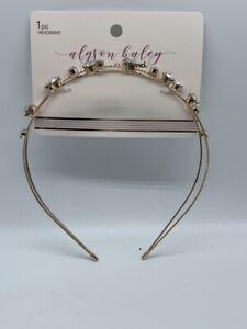Alyson Haley XO Scunci Double Headband Bling