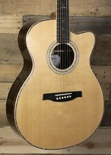 PRS SE A60E Acoustic/Electric Guitar Natural w/ Case