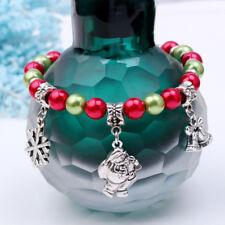 Bangles Bell Charm Pendant Christmas Gifts For Men Women Bracelets Jewelry