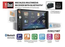 Dual Electronics XVM279BT 7-inch LED Backlit Multimedia Touch Screen Double DIN