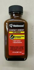 Dap Weldwood Contact Cement Rubber Cement High Strength 3oz Permanent Bond 49226