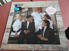 FIVE STAR: LUXURY OF LIFE: VINYL LP MADE IN GERMANY: 1985: SYSTEM ADDICT: 5