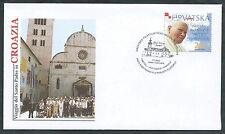 2003 VATICANO VIAGGI DEL PAPA CROAZIA VUKOVAR - SV11