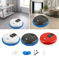 Robotic Vacuum Floor Sweeper One-Button Operation with Spray Function Home