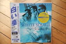 White Squall Laserdics LD NTSC JAPAN OBI Jeff Bridges