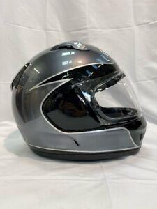 Arai Renegade-V Fury Silver Red Urban Touring Helmet M