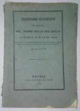 Dizionario statistico de' comuni del Regno delle due Sicilie 1850