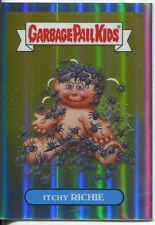 Garbage Pail Kids Chrome Series 1 Refractor Base Card 11a ITCHY RICHIE
