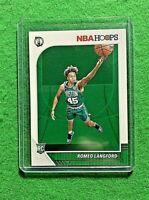 ROMEO LANGFORD HOOPS ROOKIE CARD BOSTON CELTICS 2019-20 NBA HOOPS BASKETBALL RC