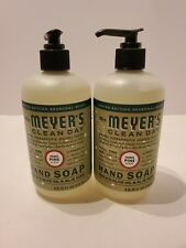 C1 Lot of 2 Mrs. Meyer's Clean Day Liquid Hand Soap, Iowa Pine, 12.5 Ounce Each