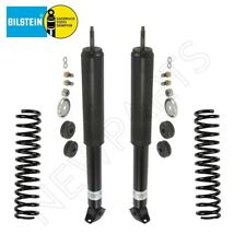 For Mercedes W123 230 240D Pair Set of 2 Front Shock Absorbers w/ Coils Bilstein