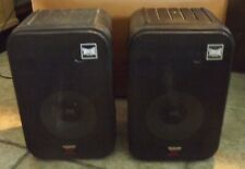 2 Pyramid 5080 Studio Monitor Speakers Rated 500W with Wall Mounts