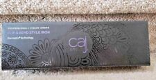 "Caj Beauty Flip and Bend Styling Iron w/ Matrix Glide & Hair Clips ""Purple Ombre"