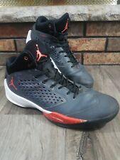 Nike Air Jordan Rising High Metallic Hematite Team Orange 768931 005 Mens 13.5