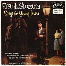 "Frank Sinatra Songs For Young Lovers (Part 1) My Funny Valentine 7"" 45 ep (fair)"