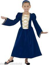 Déguisements bleus princesse pour fille