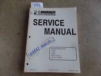 Mariner Mercury 2A / 3.5 / 5A / 8A / 15A / W15  Service Manual