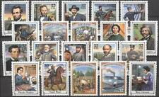USA**CIVIL WAR-LINCOLN-GETTYSBURG-20 stamps from Sheet- GRANT-LEE-1994