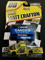 2020 WAVE 03 NASCAR Authentics 1:64 MATT CRAFTON #88 FREE STICKER TRUCK SERIES