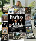 The Beatles 61th Anniversary 1960-2021 Rock Legends Blanket Best Gift For Friend