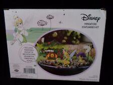 New listing Disney Tinker Bell Fairy Garden Miniature Statuaries Kit 4 Pc New In Box