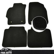 For 09-12 Mazda 6 4Pcs Black Nylon Front & Rear Floor Mats Carpet