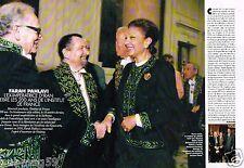 Coupure de Presse Clipping 1995 (2 pages) Farah Pahlavi