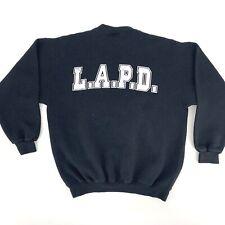 Vintage 1980s Los Angeles California Police Department LAPD '84 Sweatshirt Large