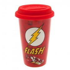 The Flash Ceramic Travel Coffee Soup Mug With Silicone Lid