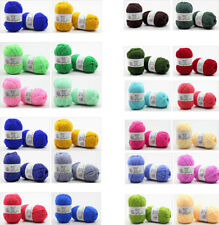 UGA 42 color Soft Bamboo Yarn Crochet 4 Ply Milk Cotton Knitting Yarn Baby Wool