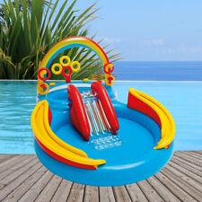Intex Rainbow Ring Play Center Planschbecken 297x193x135 Pool mit Rutsche 57453