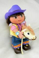 DISCONTINUE 2002 DORA EXPLORER LA-COWGIRL DANCING SINGING DOLL TOY COLLECTABLE