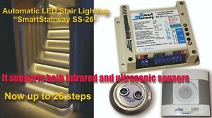 Automatic LED Stair Lighting  system  SmartStairway SS-26