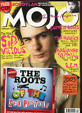 MOJO + free CD ... No. 135  February 2005  :  Sex Pistols   Bob Dylan