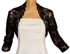 Ivory Lace Short Sleeve Bolero Shrug Sizes 8-24 24