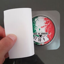 Disco Orario Adesivo Gadget Auto Personalizzato Italia