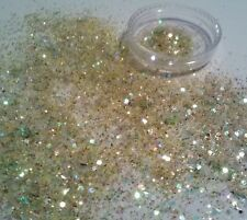Nail Art Glitter Mix! Simply Citrine! - Birthstone Collection. For Acrylic, Gel