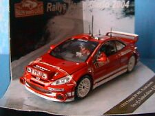 PEUGEOT 307 WRC #6 RALLYE MONTE CARLO 2004 LOIX SMEETS VITESSE 43026 1/43 NIGHT