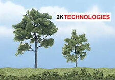 """Woodland Scenics TR1607 2 Pack 2"""" - 3"""" Premium Locust Trees Green T48 Post"""