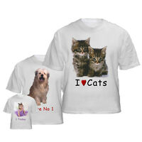 Personalised Adult Photo T shirt~Any image~ Any Text ~!