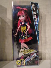 MONSTER HIGH DRACULAURA-CONTE DRACULA figlia (electrified) - NUOVO & OVP