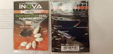 Inova K-Nect Series Oval Glow Stop beads - GREEN