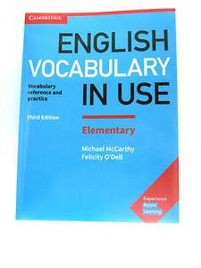 Cambridge English Vocabulary IN USE Elementary 9781316631539