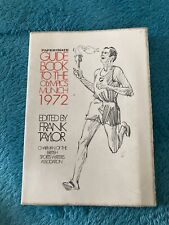 More details for 1972 munich papermate guide book to the summer olympic games by frank taylor