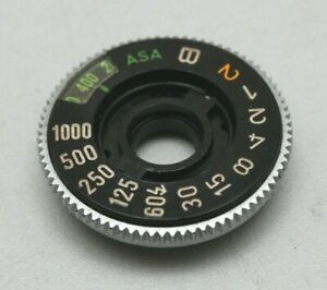 CANON AE-1 AE1 FILM ISO SHUTTER SPEED DIAL (other parts available)