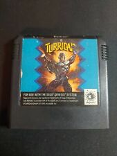 Turrican Accolade Sega Genesis Authentic Game Cartridge