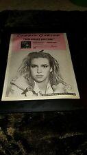 Debbie Gibson No More Rhyme Rare Original Radio Promo Poster Ad Framed!