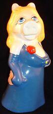 Vtg Miss Piggy Ceramic Bank Figurine Nanco The Muppets Modesty Version of Sigma