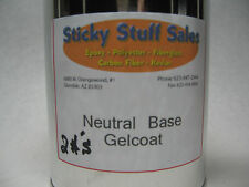 Professional grade Neutral base gelcoat w/MEKP*perfect for pigmenting* 2lbs.