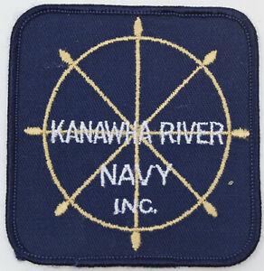 "Kanawha River Navy Inc. 3.25"" Badge Patch"